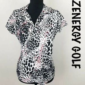 CHICO'S ZENERGY Golf Spandex Nylon Top